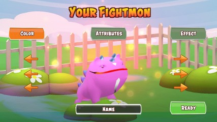 Fightmons Augmented Reality