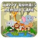 Happy Animal Memory Game