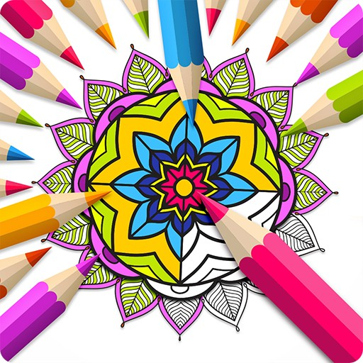 Real Mandala - Coloring Book